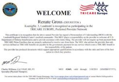 Physiotherapy Renate Gross in Landstuhl - Tricare preferred Provider - English speaking staff
